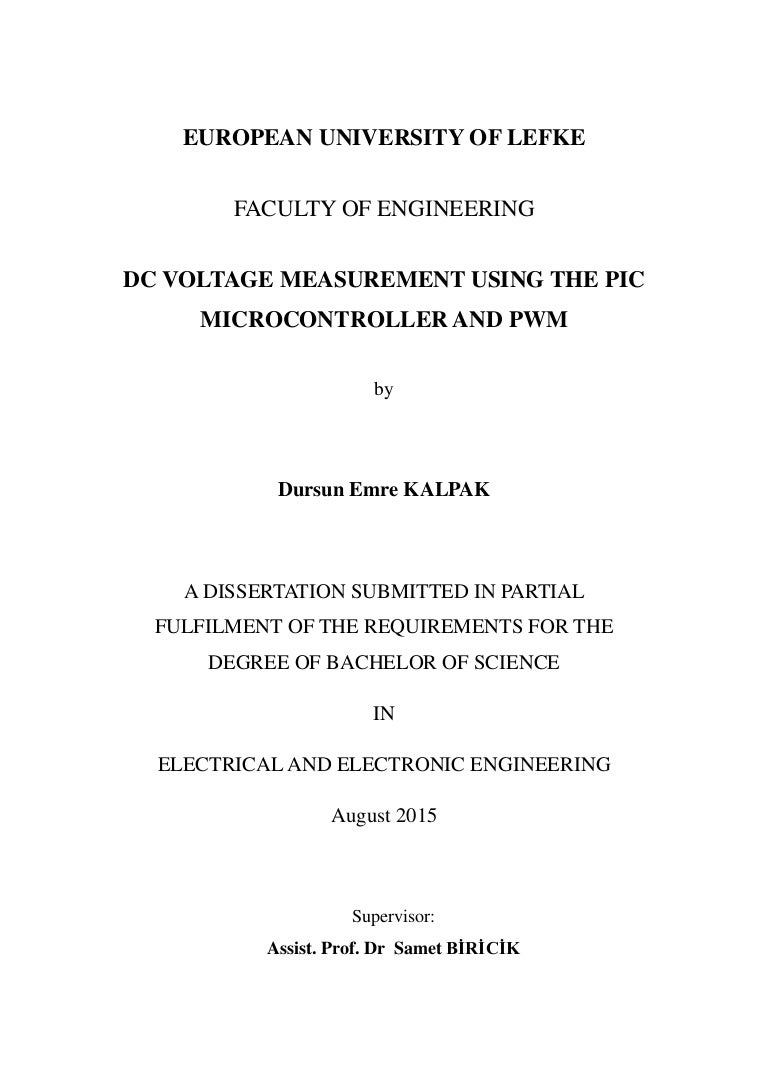 Dc Voltage Measurement Usng The With Pic Microcontroller Circuits 009 Series And Parallel Resistive Circuit Comparisons