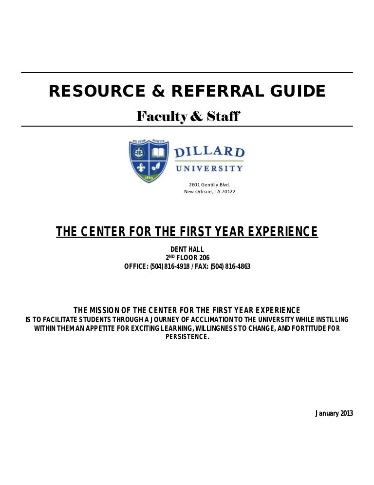 Lyric carmelita lyrics : Dillard University Spring 2013 Resource Referral Guide