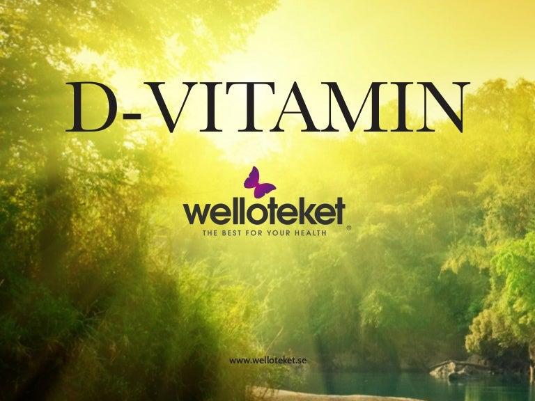 d vitamin fettlöslig