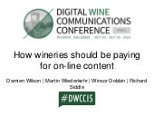 DWCC slide share   How wineries should be paying for reviewer content