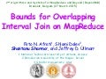 Bounds for overlapping interval join on MapReduce