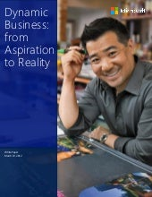 Dynamics Business - From Aspiration to Reality