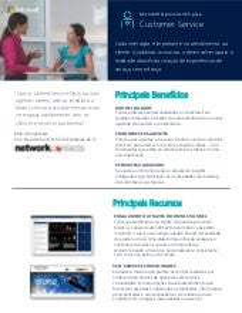 Netbull - Dynamics Enterprise para PME (Atendimento ao Cliente)