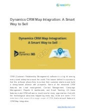 Dynamics CRM Map Integration: A Smart Way to Sell