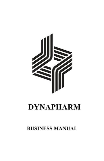 Dynapharm Product Catalogue