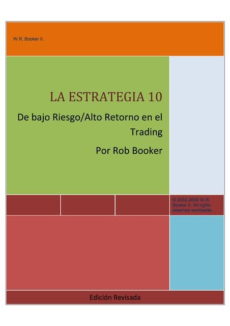 10 estrategias de forex rob booker libro