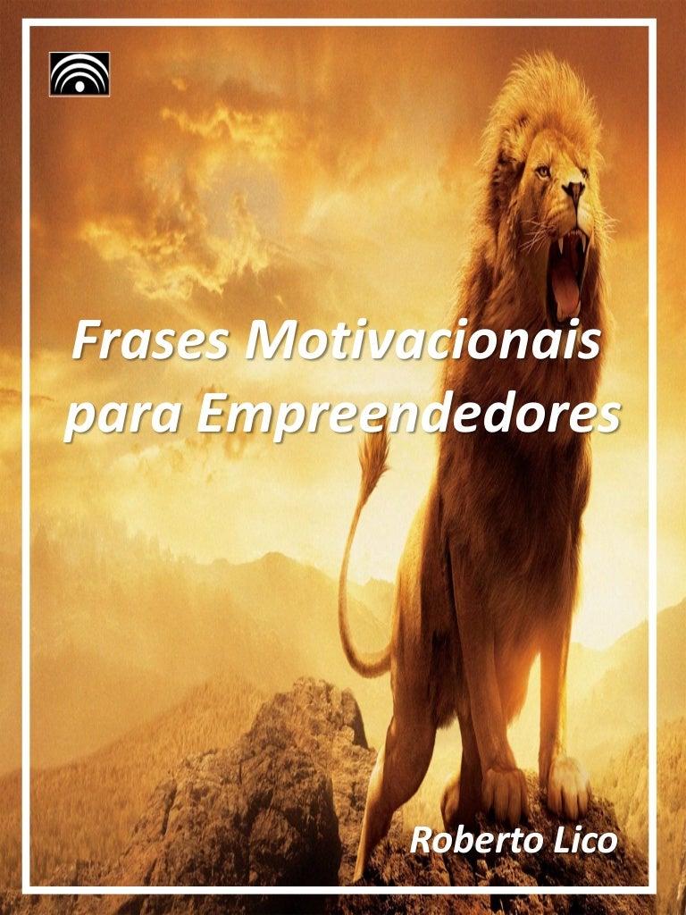 E Book Frases Motivacionais Para Empreendedores