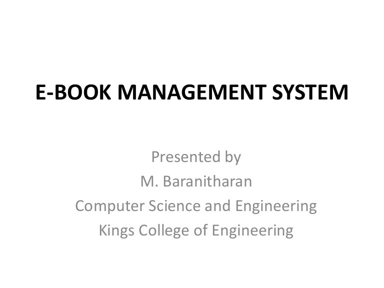 E book management system ccuart Gallery