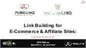 Fundamentals of Link Building for Ecommerce & Affiliate Sites in 2021