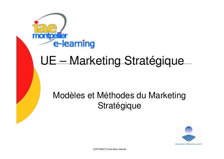 e learning marketing stratégique