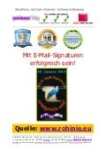 Marketing-Erfolge mit E-Mail-Signaturen!
