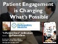"""Patient Engagement is Changing What's Possible"" - Alberta Health Services 2016"