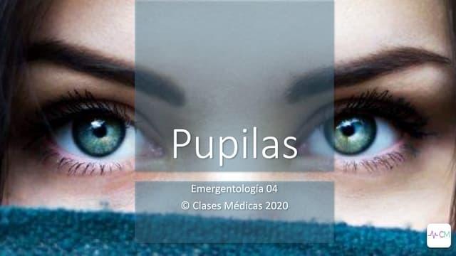 Examen de las pupilas