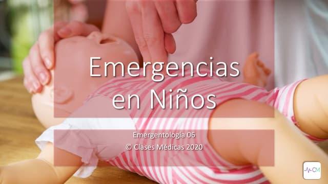 Emergentología en Niños