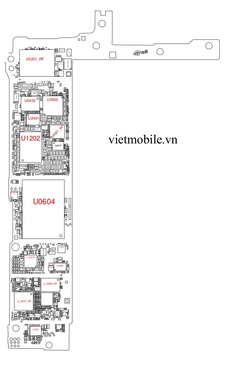 Iphone 6 Plus Block Diagram Schematic Full Vietmobilevn