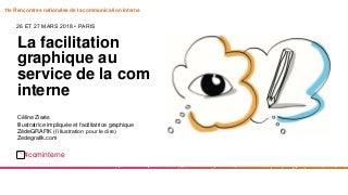 E1. La facilitation graphique ou la visualisation au service de la com interne