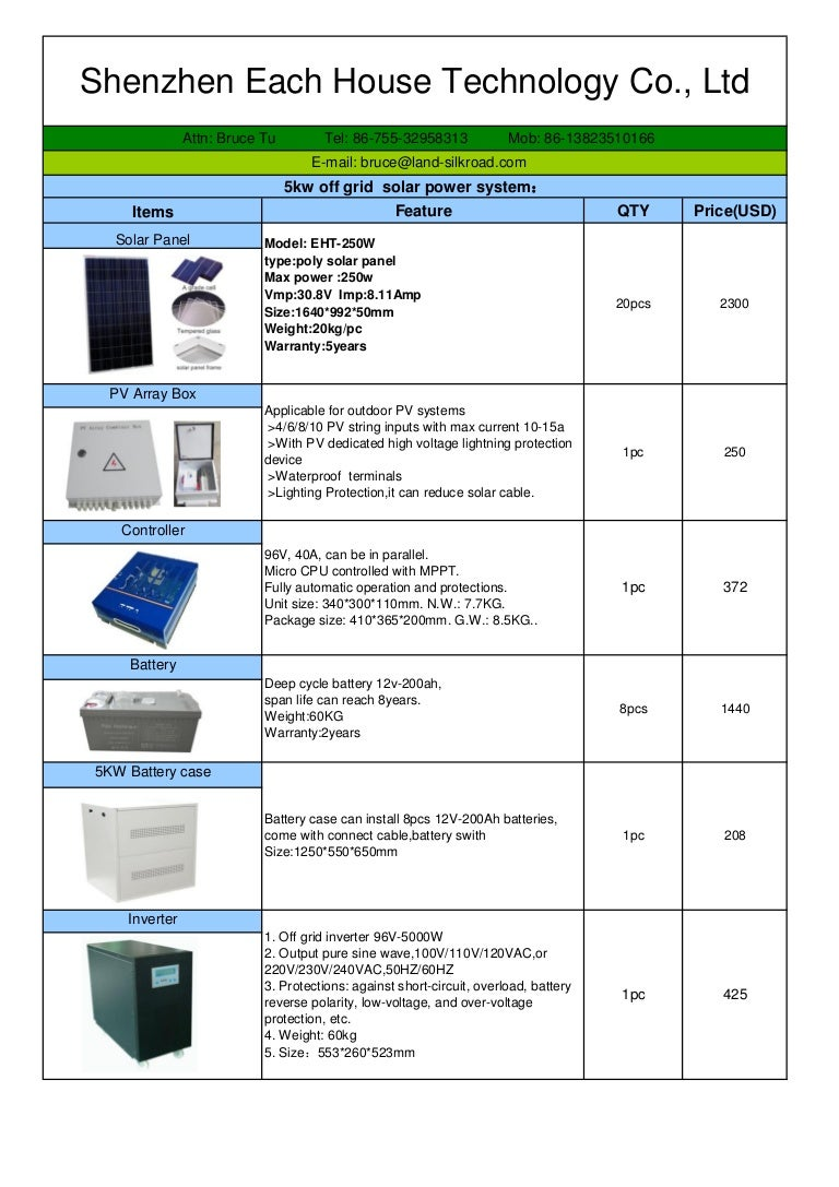 Eht 5kw 96v Off Grid Solar Power System Quotation3 Battery Reverse Polarity Protection In Low Voltage Applications