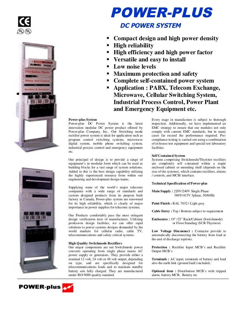 Cataloque Power Plus Rectifiers 110vdc Scr High Alarm Driver Circuit Design