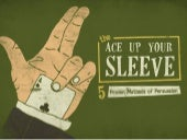 The Ace Up Your Sleeve: 5 Proven Methods of Persuasion