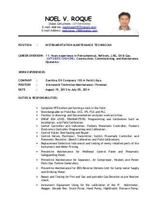 instrument technician resume examples gallery resume format