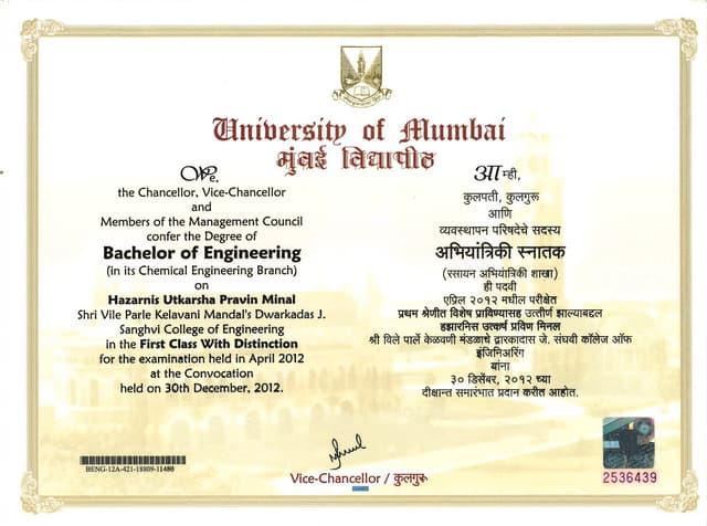 Undergrad Diploma