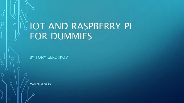 Raspbeery PI IoT