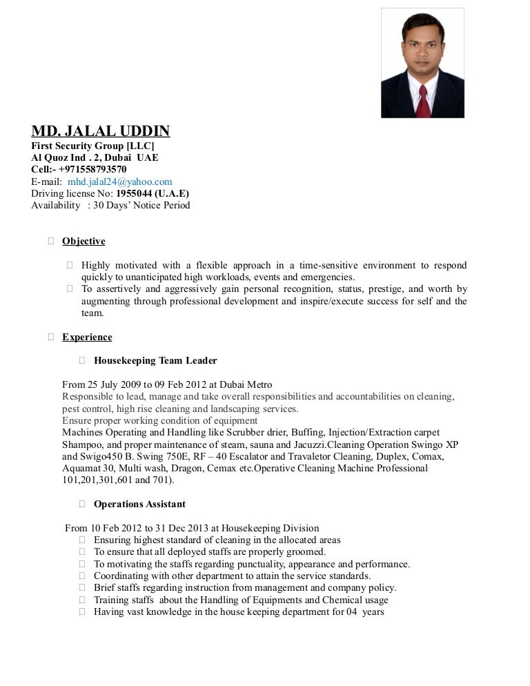 dubai resume format - Muck.greenidesign.co