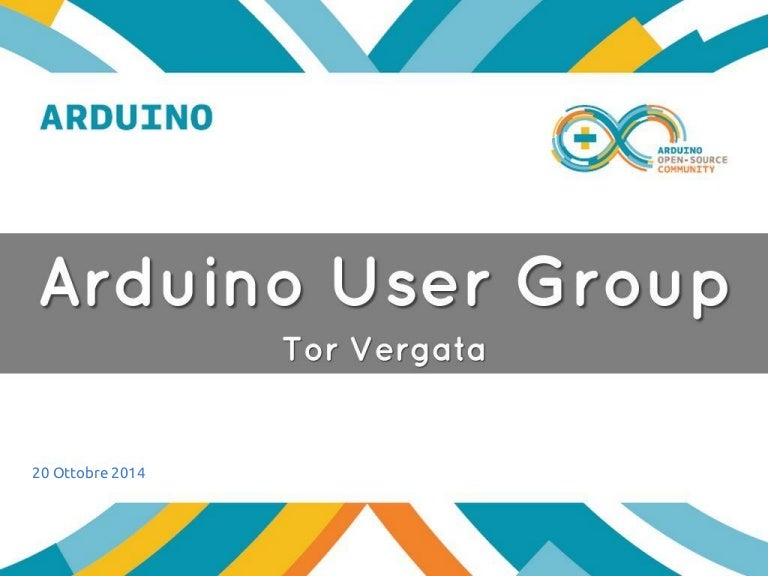 Arduino User Group Uniroma2