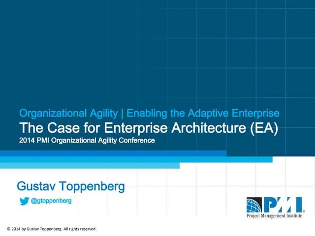 The Adaptive Enterprise v3