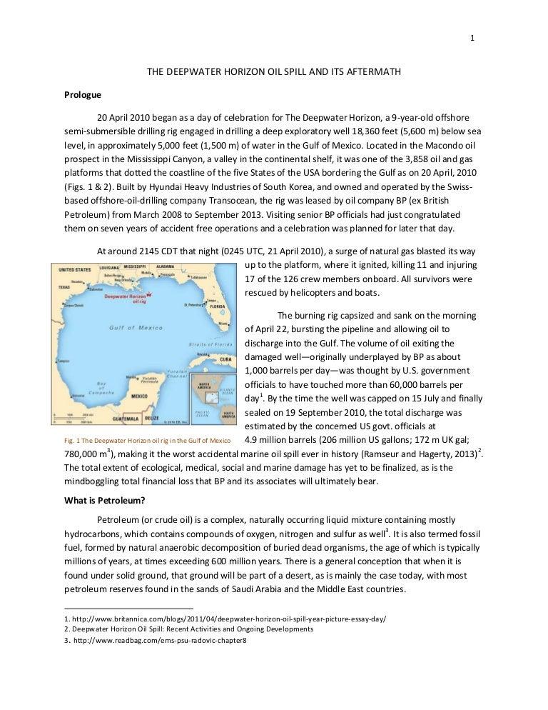 deepwater horizon oil spill effects on humans