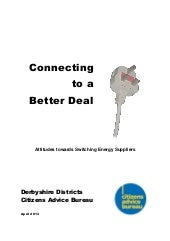 Connecting to a Better Deal