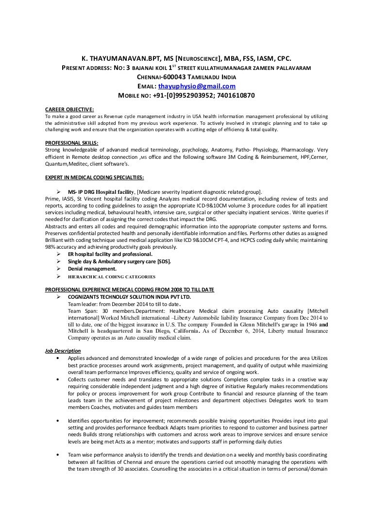 medical coder resume india virtren medical office manager resume template example cv sample job thesistut choice