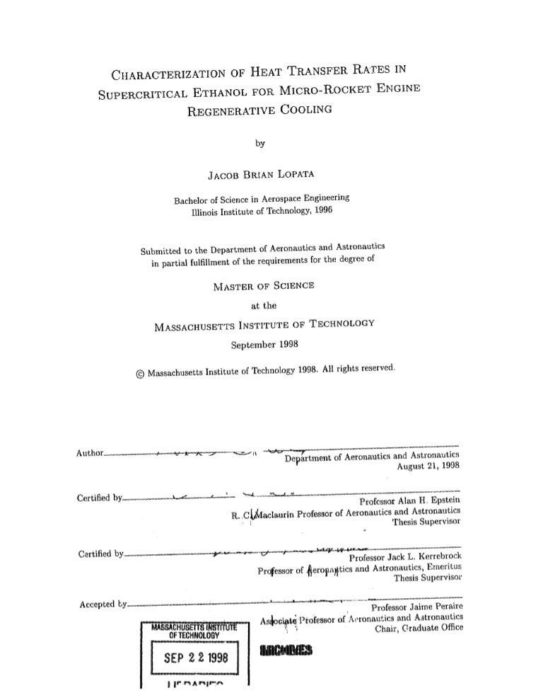 Mit thesis order