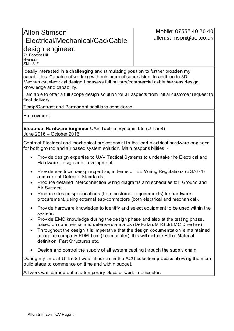 wiring harness design engineer resume wiring image cable harness design engineer sample resume custodian sample resume on wiring harness design engineer resume