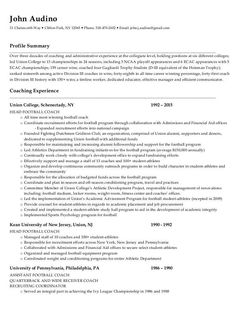 john audino resume pdf format