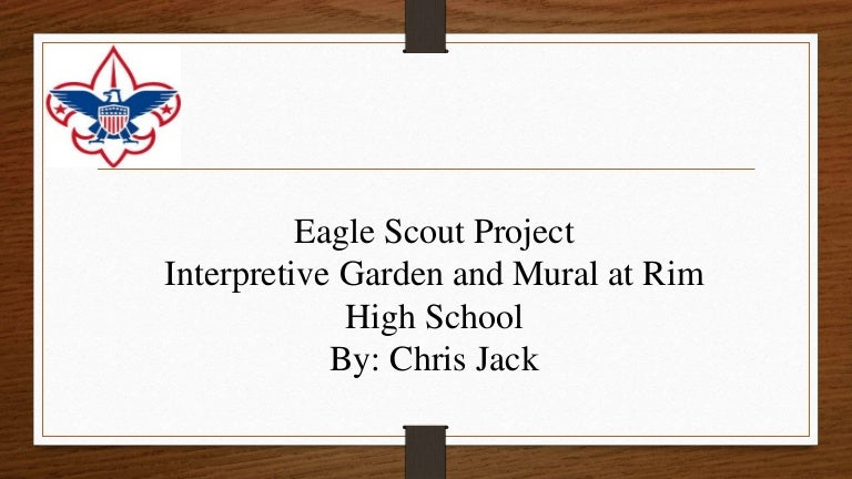Eagle Scout Service Project Presentation