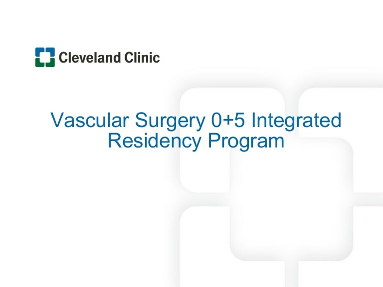 Cleveland Clinic Vascular Surgery Residency Program