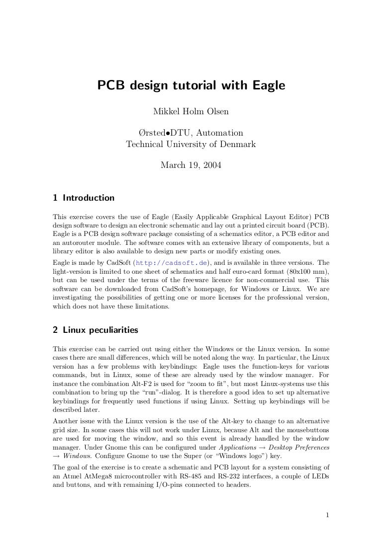 Eagle Tut Figure 2 Schematic View In Pcb Software