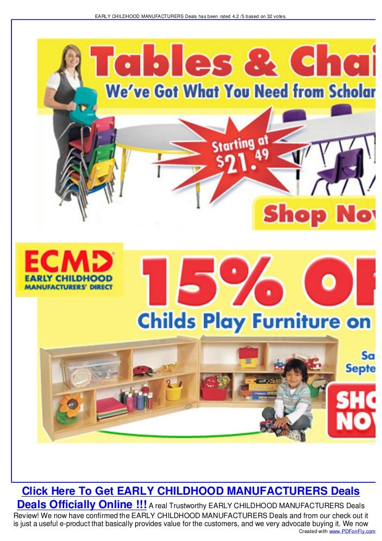 Early Childhood Manufacturers Direct Deals Children S Table And Cha
