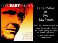 Earned value in five easy pieces