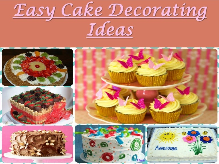 Easy cake decorating ideas learn how to decorate beautiful cakes teraionfo