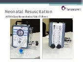 Easy resuscitation unit presentation