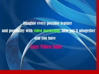 Easy video suite review easy video suite bonus easy video suite
