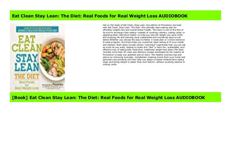 weight loss diet with real foods