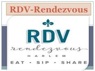 Eat Best Burger in Harlem - RDV-Rendezvous