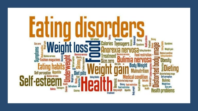 30 MILLION people suffer with eating disorders