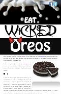 Eat Wicked Oreos