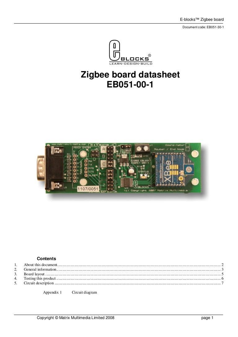 Eb051 30 1 Circuit Diagram Of Zigbee Module