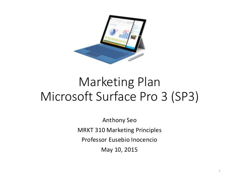 microsoft surface marketing strategy