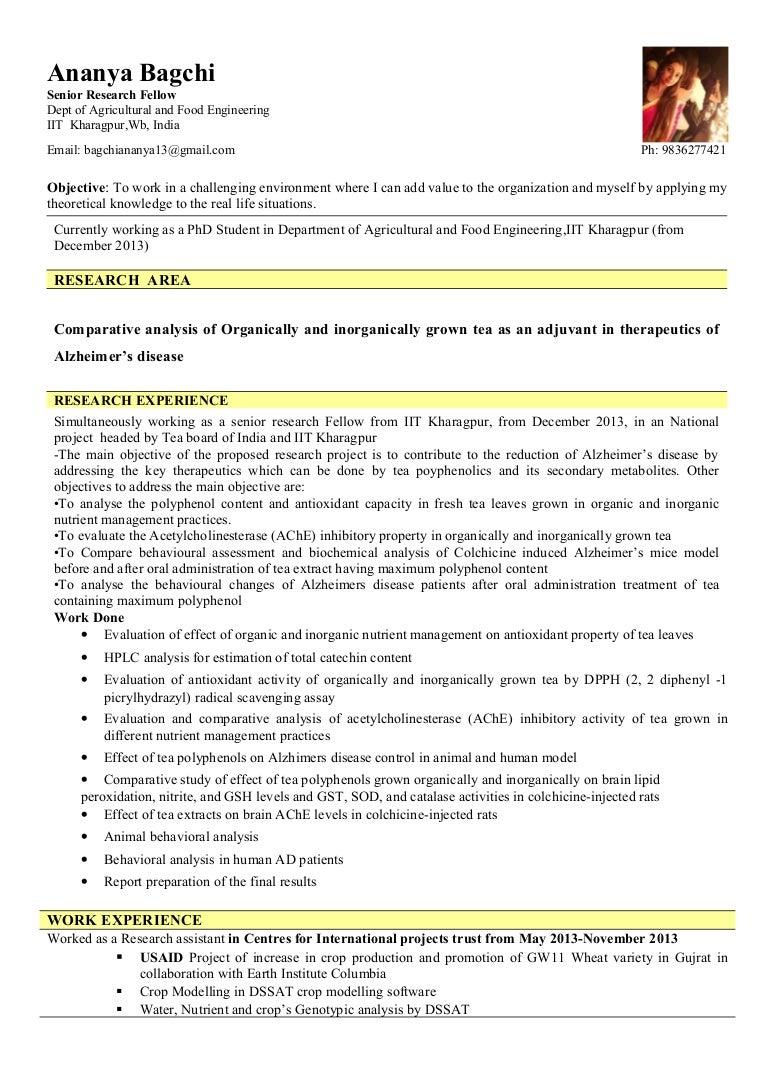 updated resume Ananya